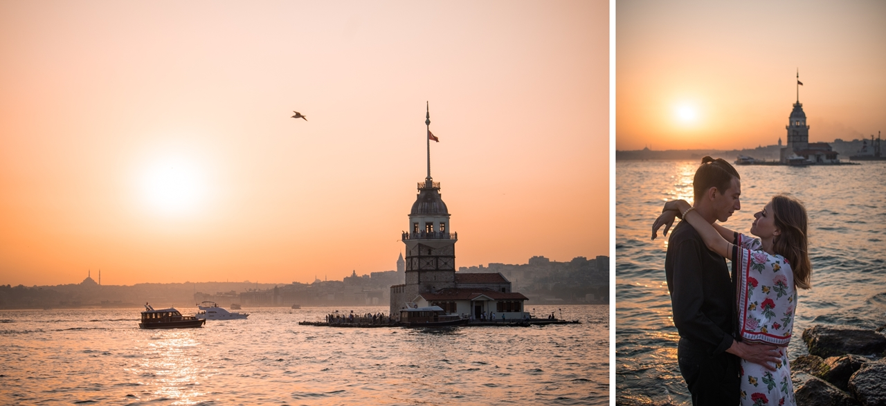 Uskudar_Istanbul_Turkey_Sunset_view